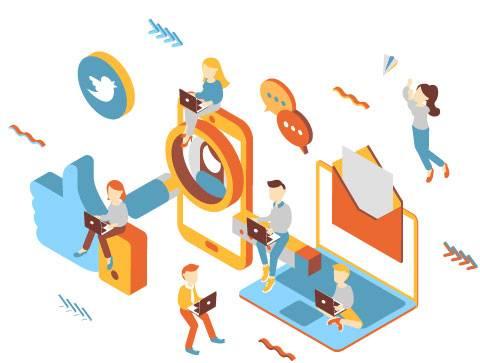 Motori di ricerca vs social media