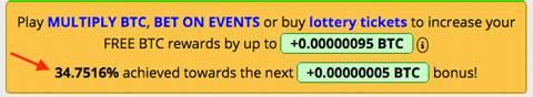 bonus per guadagnare bitcoin